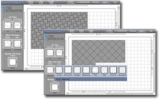 Ceramic tile preparation prepare layout for Tile layout tool