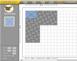 Ceramic tile preparation select your tile grout Floor tile design software