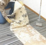 preparting a plywood subfloor for tile installation