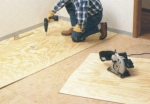 preparing subfloor for tile installation