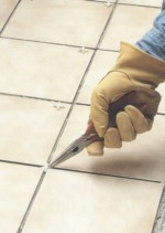 Grouting with Ceramic Tiles