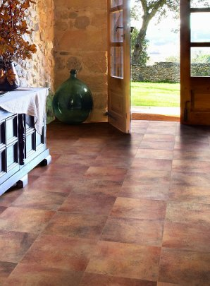 Sunshine Terracotta Ceramic Floors