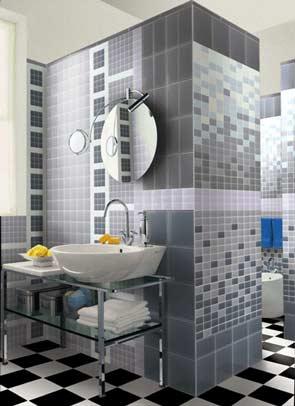 Azulejos - Combinacion de azulejos para banos ...