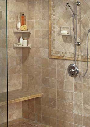 Second Tile Shower