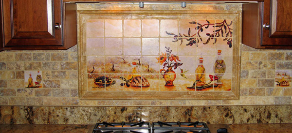 Murial Kitchen Tile Backsplash